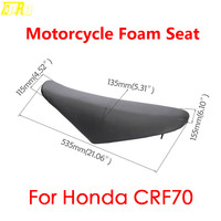 Genuine New Motorbike Gripper Seat Foam Cover For Honda CRF70 Dirt Pit Bike Motorcycle Seats Cushion 125cc 140cc 150cc