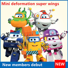 one piece mini super wings anime action figure transformation robots bonecos china robot pop hot toys for children kids gift tv