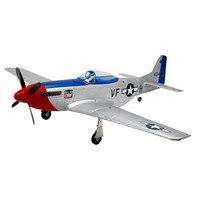 Dynam의 P-51D V2 프레드 로버 1200 미리메터 날개 EPO 워 바도 RC 비행기 PNP 좋은 품질 모델 장난감 아이 어린이 선물