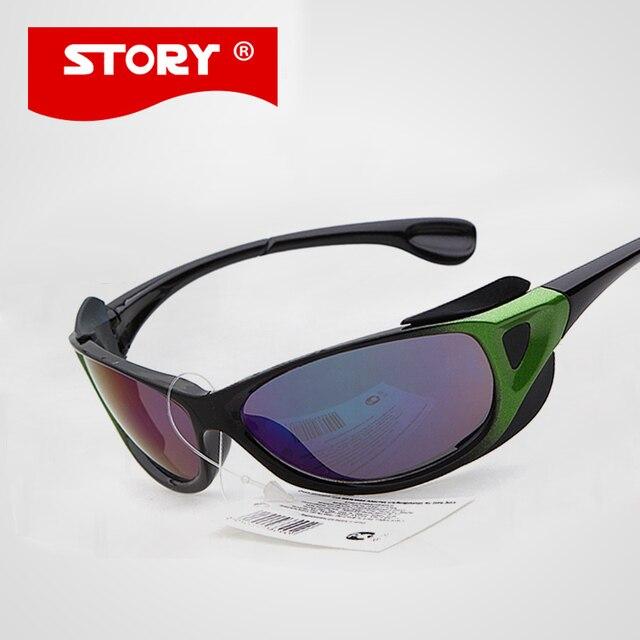 HISTOIRE Vente Chaude Marque De Mode Sport lunettes de Soleil Enfants UV400  Bébé Garçons Filles En 401b232fc065