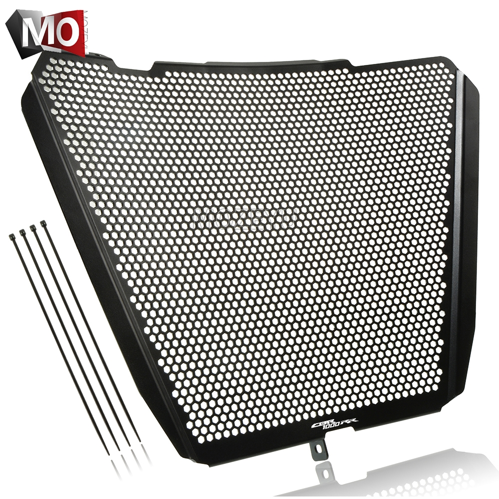 Stainless Steel Motor Accessories Radiator Guard Protective Cover Grille For Honda CBR1000 2017-2019