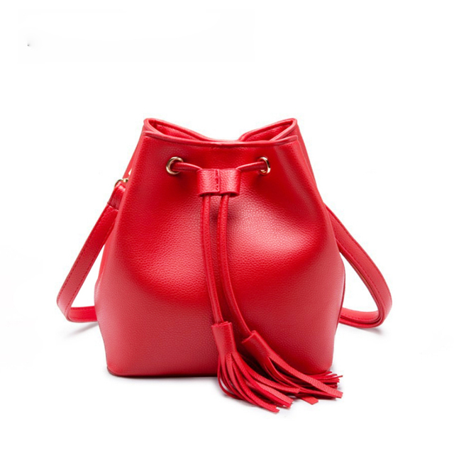 3081f68ed98d SWDF 2018 Women Bags Fashion Pu Women s Leather Handbags Black Women Bag  Tassel Fur Bag Ball