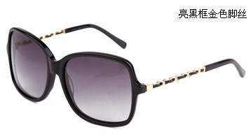 RBspace Sale Special Offer Adult Women Photochromic Acetate Black Female Sunglasses Star Style Fashion Sun Glasses
