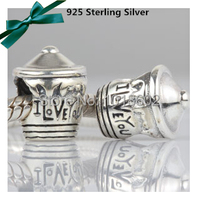 New Arrived 100 925 Sterling Silver Pendant Lovely Cupcake Charms For European Bracelet Necklace 1pc Lot
