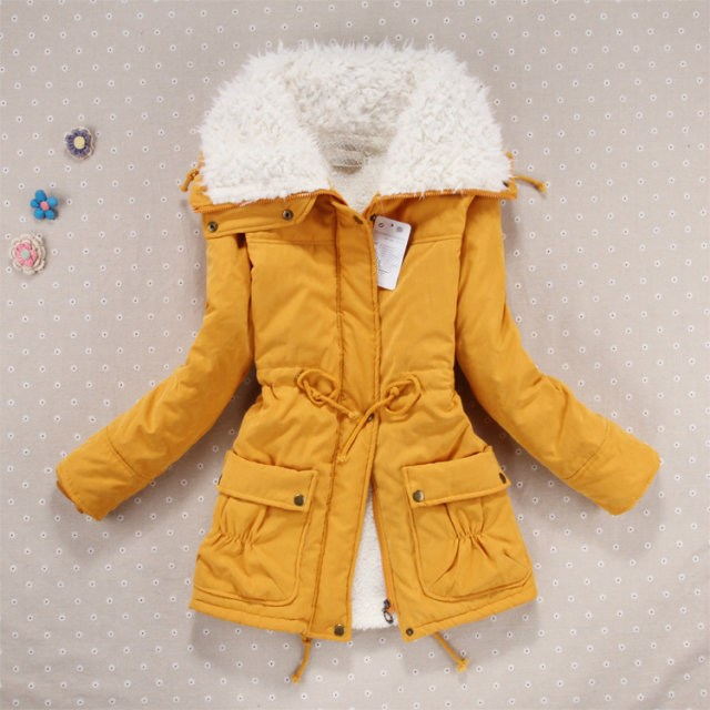 New Autumn Winter Women Parka Woman Clothes Solid Long Jacket Slim Plus Size Women's Winter Jackets And Coats olgitum new autumn winter jacket coat women parka woman clothes solid long jacket slim women s winter jackets and coats cc107