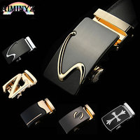 2016 New Arrival Men S Brand Designer High Quality Luxury Gold Silver Metal Automatic Buckle Belt