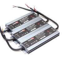 Su geçirmez Ultra Ince Işık Trafo AC 100-240 V 110 V 220 V DC 12 V LED Sürücü Adaptörü 60 W 100 W 120 W 150 W 200 W Güç Kaynağı