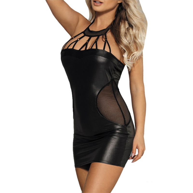 <font><b>5XL</b></font> New <font><b>Sexy</b></font> Nightclub Slim Backless Summer <font><b>Club</b></font> <font><b>Dress</b></font> Summer Bar Hollow Mini Bodycon Cover Belly <font><b>Dress</b></font> Plus Size image