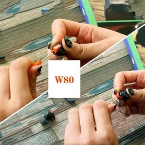 Image 5 - OKCSC ل Westone جديد W80 المعادن صرف فاسبلاتيس مكافحة انفجار سماعة غطاء ل W80 جديد W60 جديد W40 مع معدن المسمار أدوات