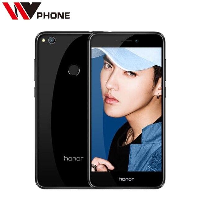 """Оригинал huawei honor 8 lite 4 г lte мобильный телефон 3 г ram 32 г кирин 655 окта основные 5.2 """"FHD 1920*1080 P Отпечатков Пальцев ID"""
