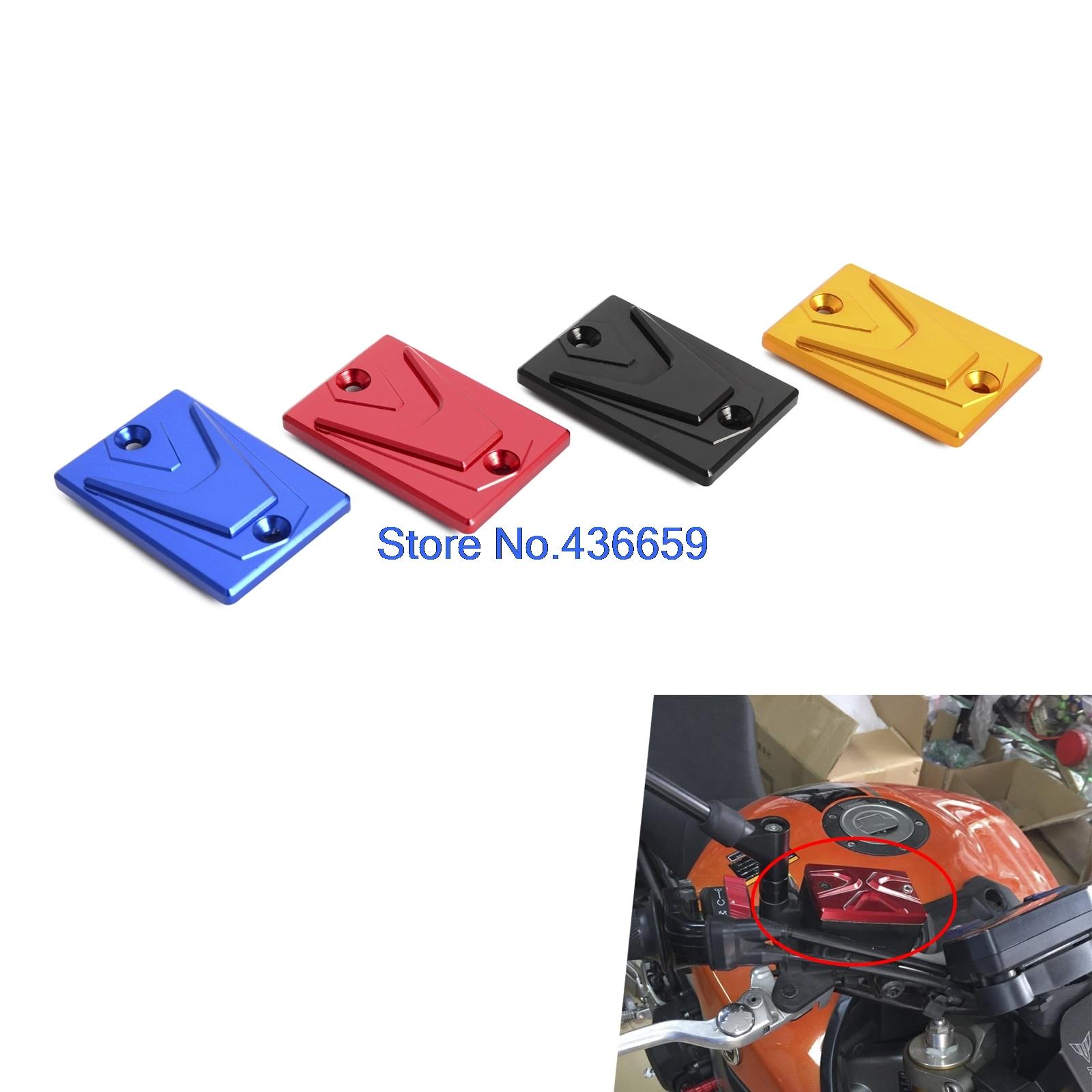 CNC Front Brake Master Cylinder Fluid Reservoir Cover Cap For Yamaha FJR1300 FJR1300A 03-05 FZ6N FZ6S FZ-6N FZ-6S 04-05