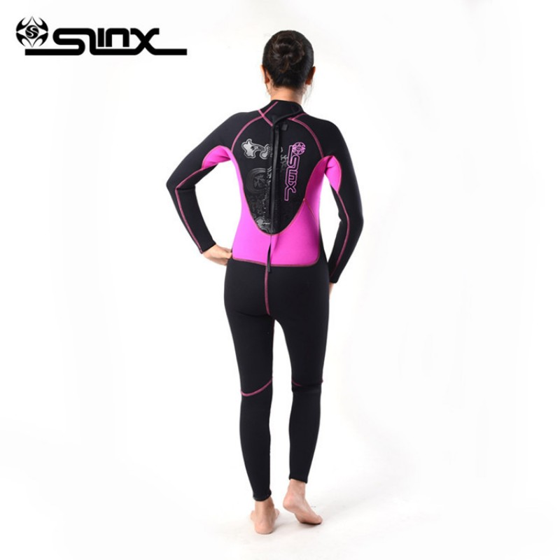 Brand New Womens neoprene 3mm wetsuit for female,woman diving ,Full Body wet suit, Long Sleeve Suit for Surfing Snorkeling