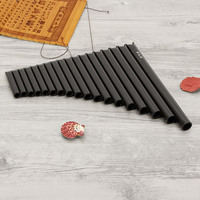 18 Tube Alto C Open Hole ABS Resin Pan Flute For Beginner With Bag
