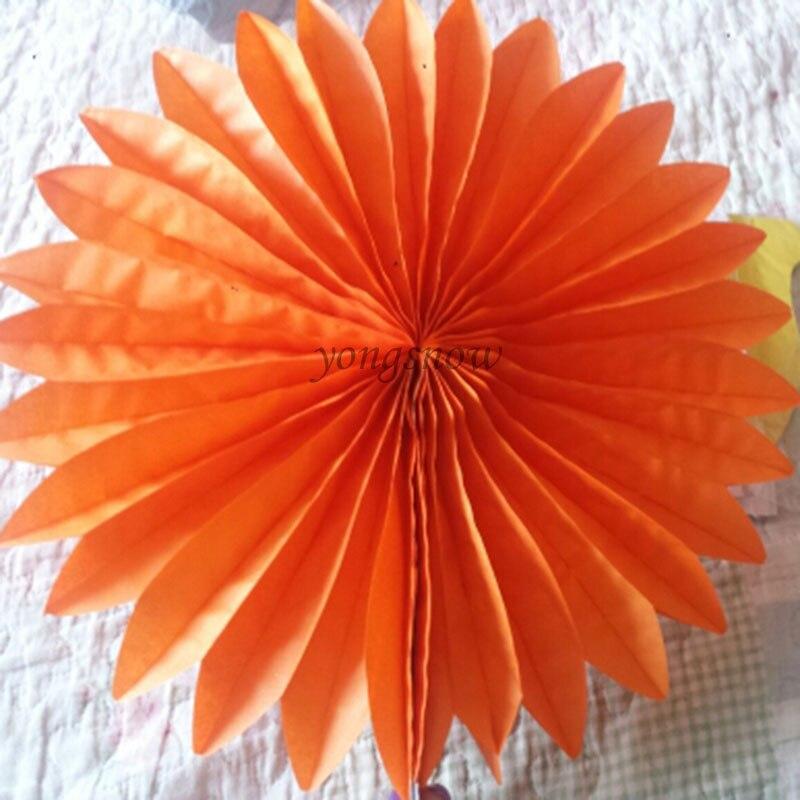 1pcs 20cm Tissue Paper Fans Flowers Balls Lanterns Diy Craft Wedding