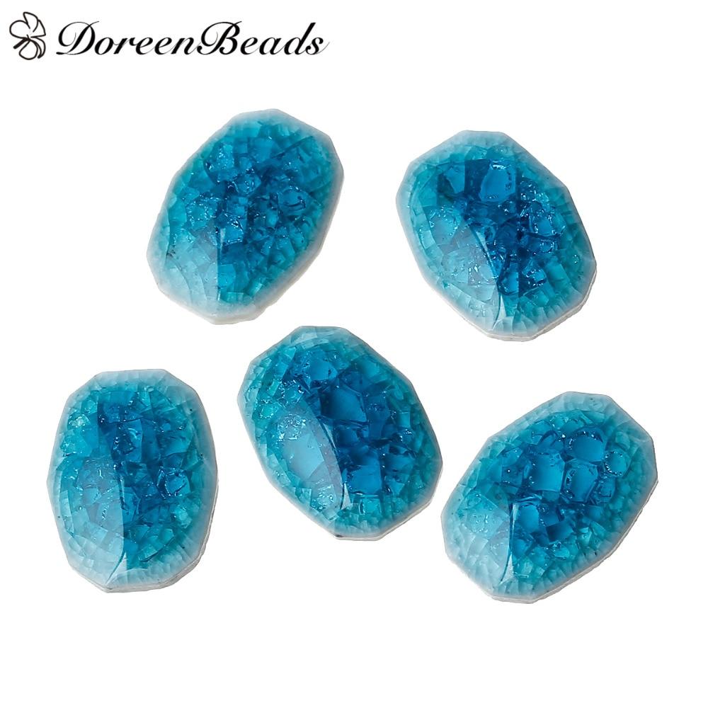 10 Gem Diamant Cristal Look PAPER BACK Cabochons en Verre Ronde Cabochon FLAT DOME