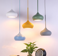 Nordic Design Led Indoor Pendant Lights Luminaire Kitchen Fixtrue Reception Desk Dining Restaurant Modern Hanging Lamp Droplight