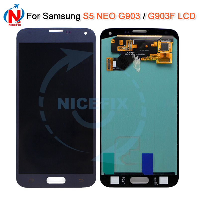 Super AMOLED For Samsung Galaxy S5 Neo G903 G903F G903W8 LCD Display Touch Screen Digitizer Assembly