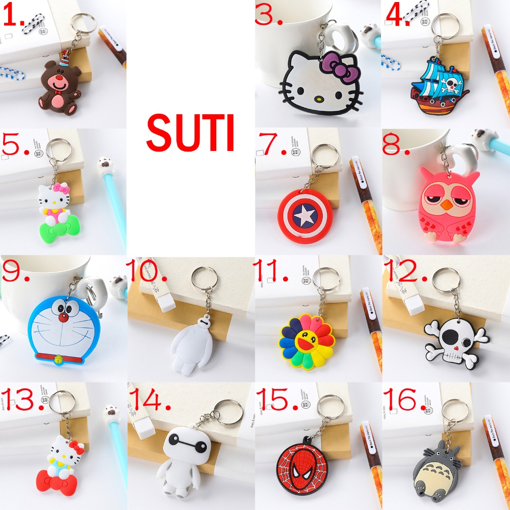 suti Anime Keychain cute bunny key chain keyring bag phone
