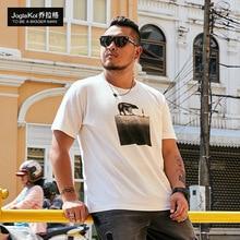 Man enlarged code short sleeve T-Shirt mens loose casual half-sleeved round collar T-shirt summer t-shirt