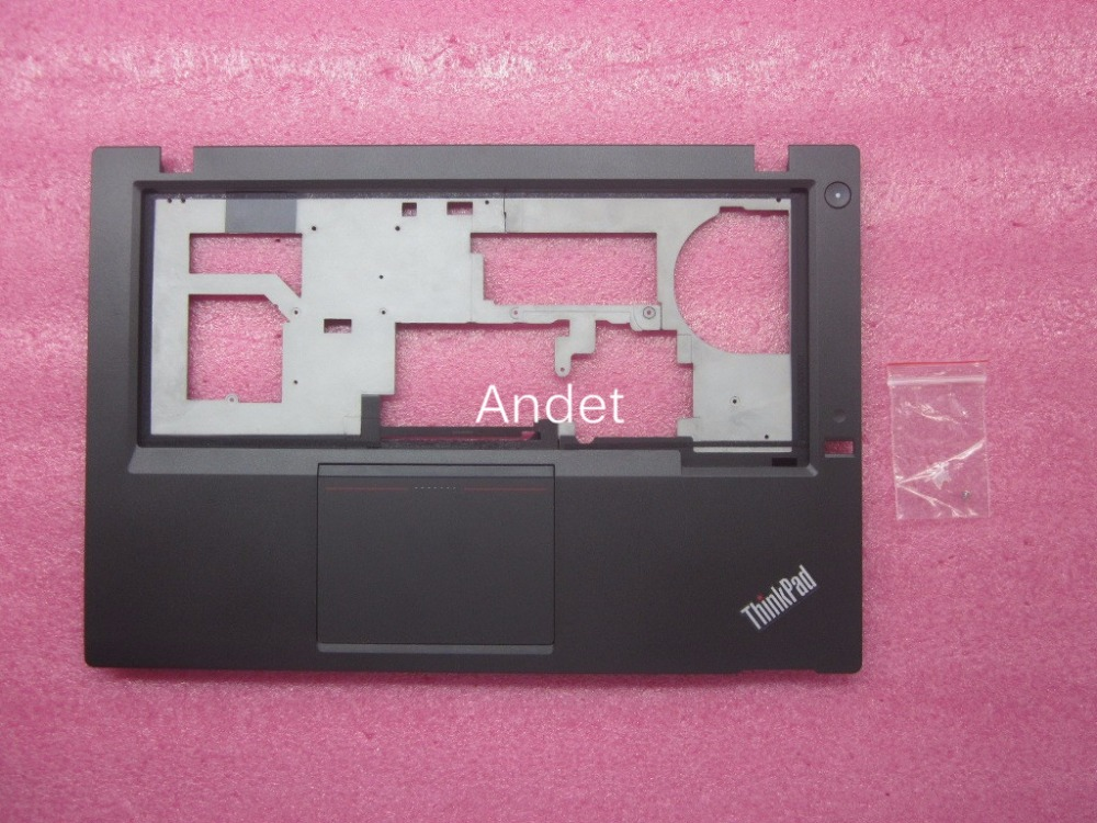 New original for Lenovo ThinkPad T431s Palmrest Upper Case Keyboard Cover with Touchpad FP Hole04X0812 new original for lenovo thinkpad t460 palmrest keyboard bezel upper case with fpr tp fingerprint touchpad 01aw302