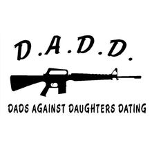 papas dadd contre filles datant autocollants pare-chocs