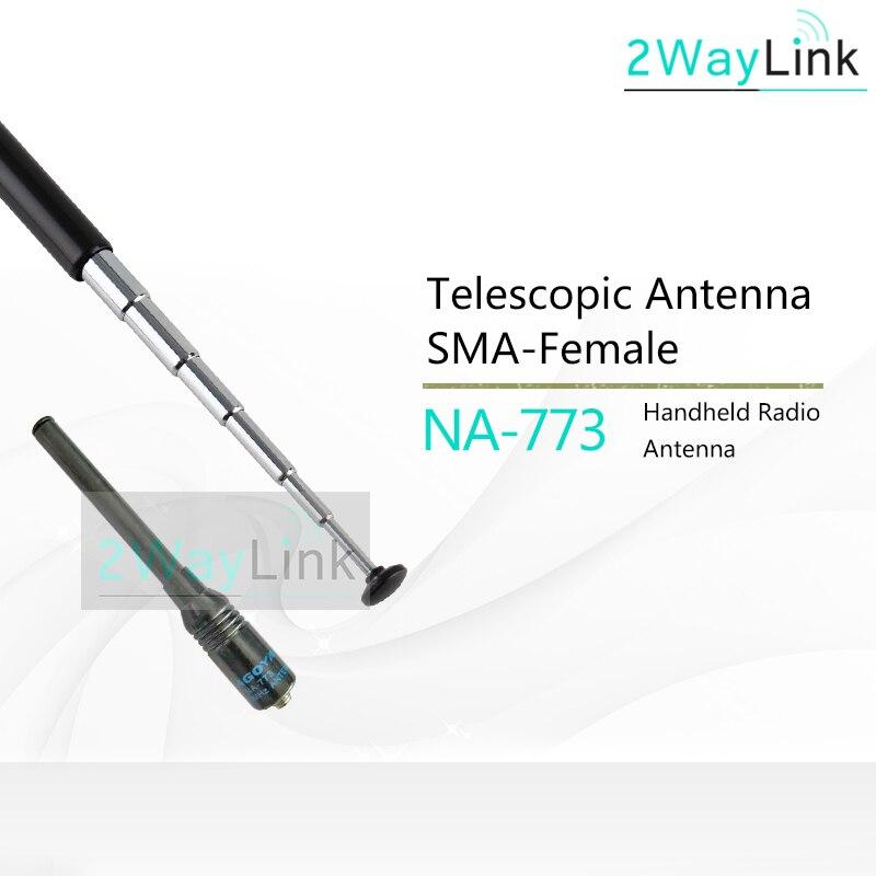 NAGOYA NA-766 Ham VHF//UHF Radio Dual Band Handheld Rod Antenna 80-600MHz BNC-M