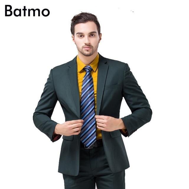 54c2d2712c8bc 2019 new arrival wysokiej jakości weding sukienka, jeden przycisk garnitur  casual mężczyzn, ciemny zielony