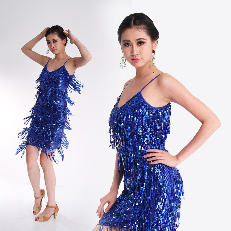 Popular Sequin Dance Costumes-Buy Cheap Sequin Dance Costumes lots ...