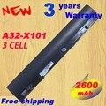 3 ячеек батареи Ноутбука A31-X101 А32-X101 Для ASUS Eee PC X101 X101C X101CH X101H серии А32-X101 B-ASX101L7