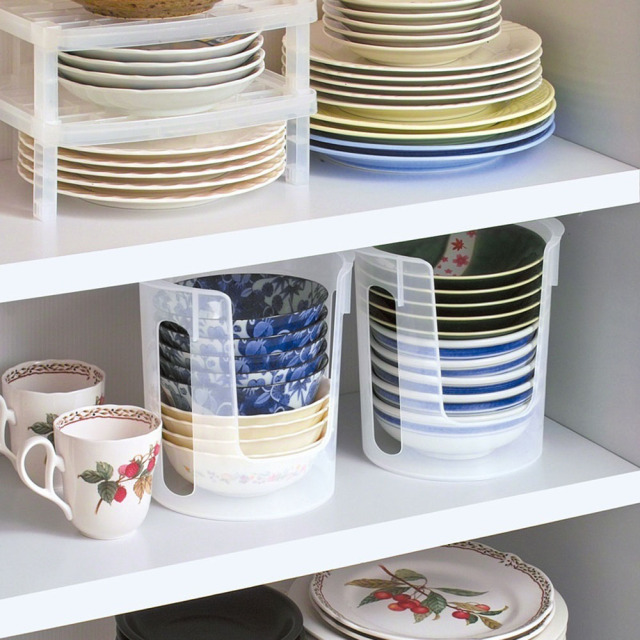 Kitchen Plate Organizer