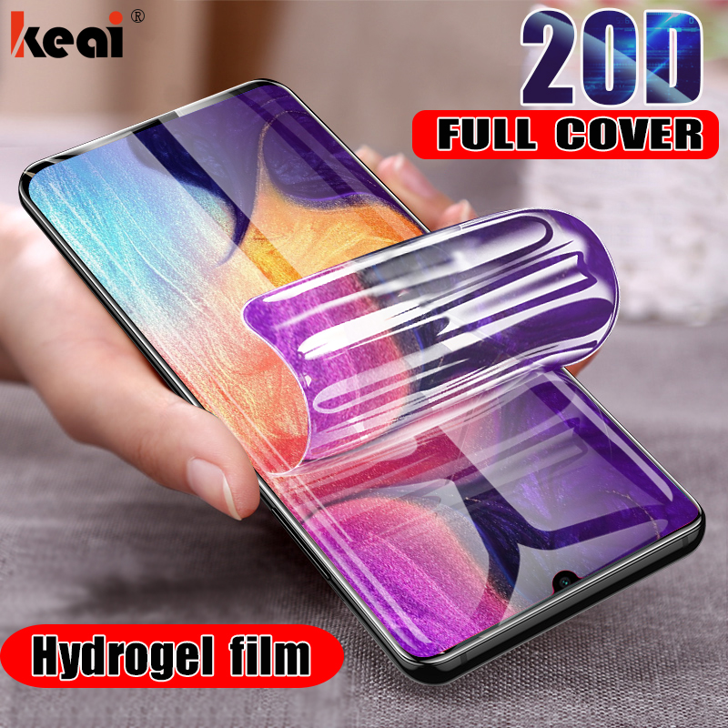 20D Hydrogel Film For Samsung Galaxy S8 S9 Plus Screen Protector For A50 A30 A20 A70 A80 A90 A10 M10 M20 M30 Soft Film Not Glass(China)