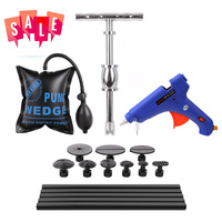 Sale PDR Tools Kit Dent Puller Slide Hammer PDR Glue Tabs For Dent Removal Paintless Dent Repair Black Glue Stick
