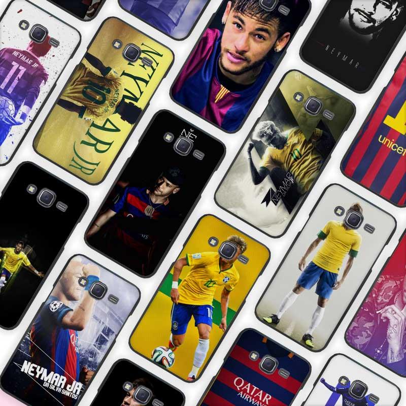 JR Neymar Black Case Cover Shell Protective for Samsung Galaxy J1 J2 J3 J5 J7 2016 2017
