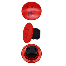 1pc 3.5cm One-button Start Button Switch High Quality Car Stop Engine Accessories For Mercedes W164 W205