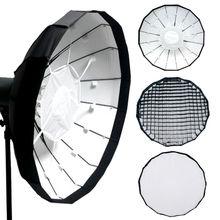 47″ Folding Beauty Dish Cloth with Grid Camera Flash Photography Photo Studio