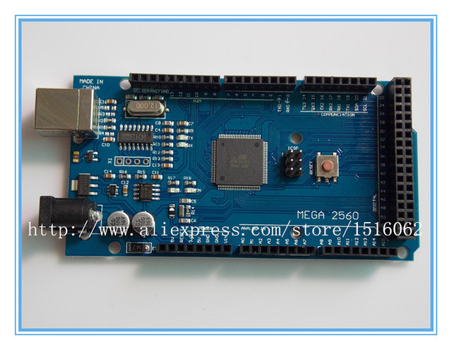 10pcs Mega 2560 R3 Mega2560 REV3 (ATmega2560-16AU CH340G) Board ON USB Cable compatible for arduino [No USB line]
