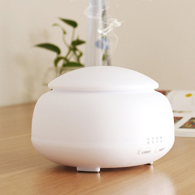 ICOCO Mini tea cans ultrasonic aroma humidifier with colorful night light portable