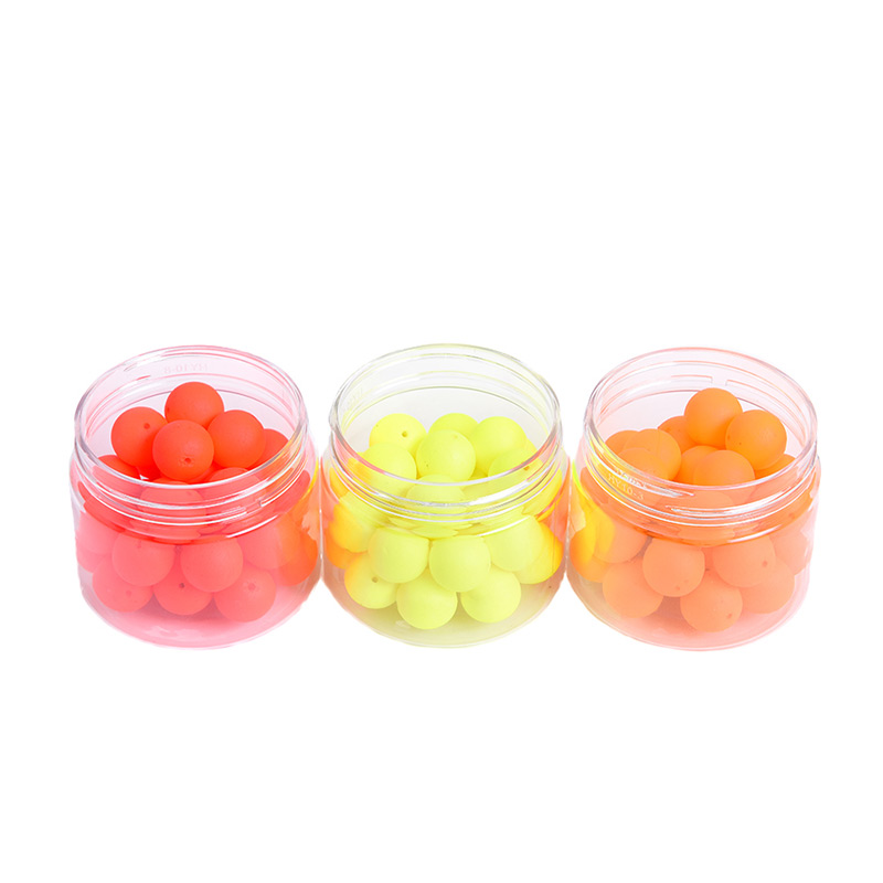 30Pcs Fishing Float Mineral Balls Durable Bottled EPS Foam Buoy Float Ball Gear Floats Fish Bait Fishing Buoy Outdoor Accessory