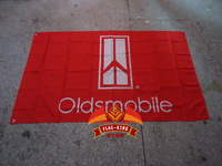 Oldsmobile Toronado Car Flag 90X150 CM Size Digital Printing Polyester Oldsmobile Silhouette Banner
