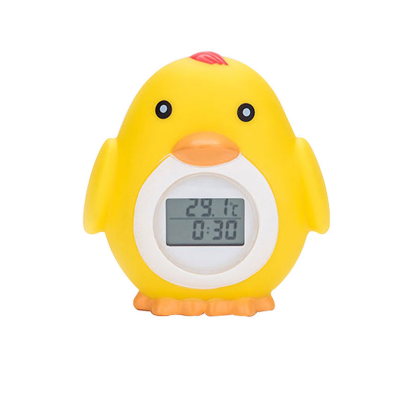 Baby Bath Thermometer Floating Bath Toy Safety Thermometer w//Temperature Alarm