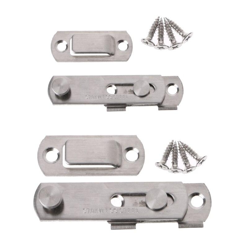 Stainless Steel Bolt Latch Slide Lock From Door To Closet Window Women Dress Up G25 Great Value April 4
