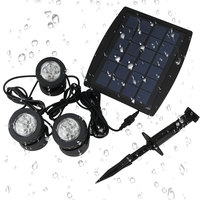 High Quality IP68 Waterproof Solar Garden Light Solar Powered Lamp Garden Decoration Outdoor Lighting