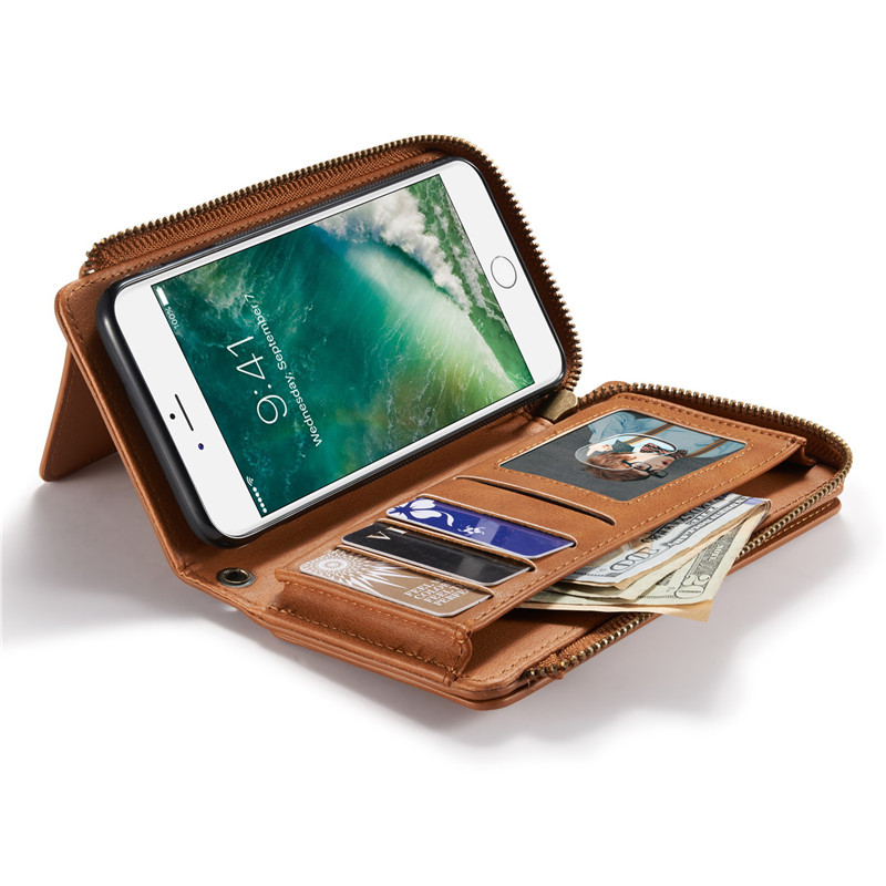 Ritsleting Kasus Untuk Coque Samsung Galaxy S8 S7 S6 Tepi Ditambah S - Aksesori dan suku cadang ponsel - Foto 4