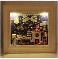 Кукла Модель дома строительство комплекты поделки ручной работы из дерева мини-миниатюрная кукольный домик на день рождения рождественский подарок - тур из мечта