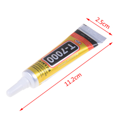 T7000 15ml Multipurpose Adhesive Rhinestone DIY Phone Screen Frame Epoxy Resin Sealant Super Black Liquid Glue T-7000 Nail Gel