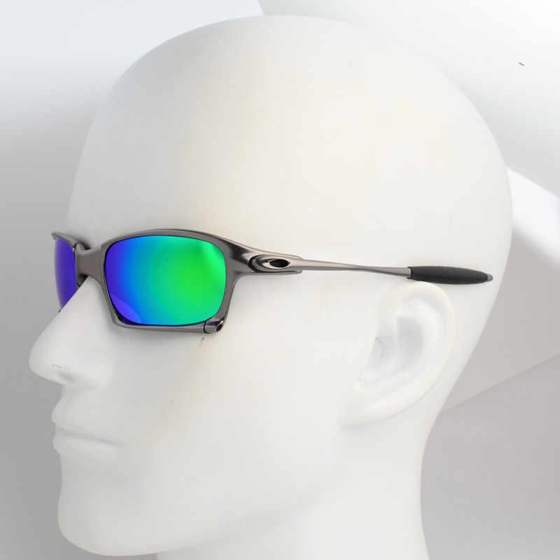 de22872ef19 Men Polarized Cycling Sunglasses Metal Frame Sport Riding Eyewear Outdoor  Glasses Vintage Square Lens Oculos ciclismo