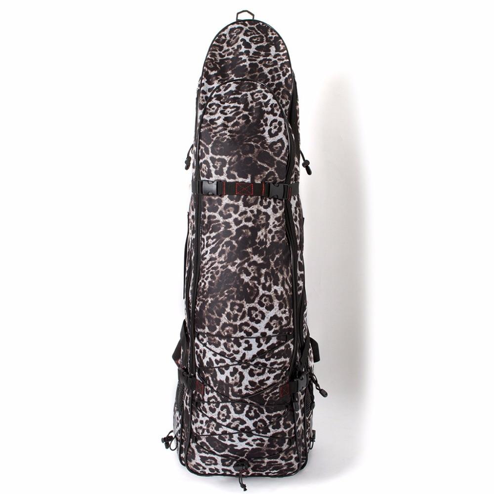 Camo long sac de pêche sous-marine palmes de plongée gratuit masque tuba sac palmes