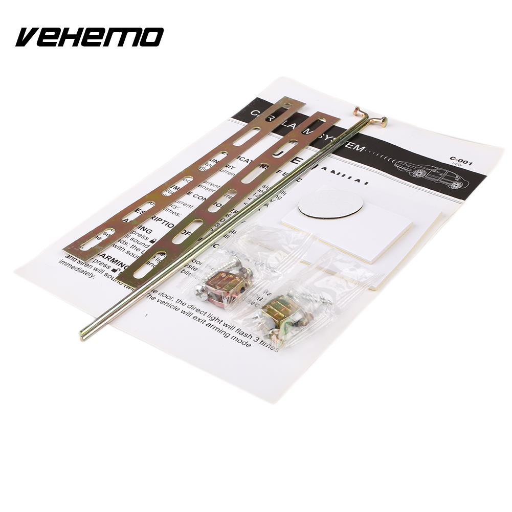 2 porte Télécommande de Verrouillage Central Système De Verrouillage Kit Set & Voiture de Sécurité D'alarme - 6