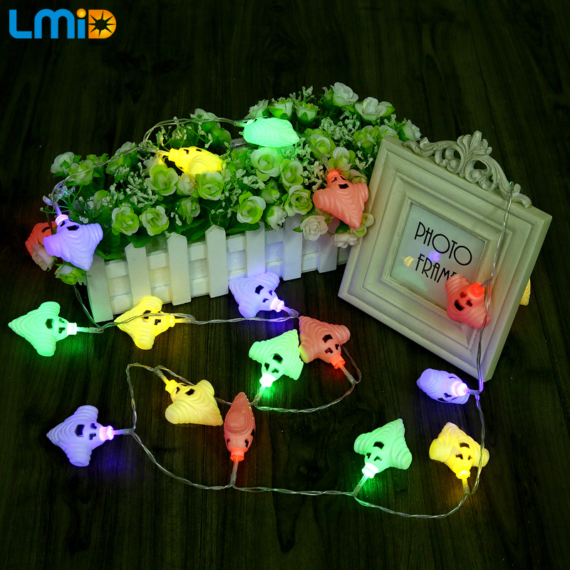 LMID 3M 30led Battery String Light Outdoor Warm White RGB Led Fairy Lights  Christmas Halloween Festival