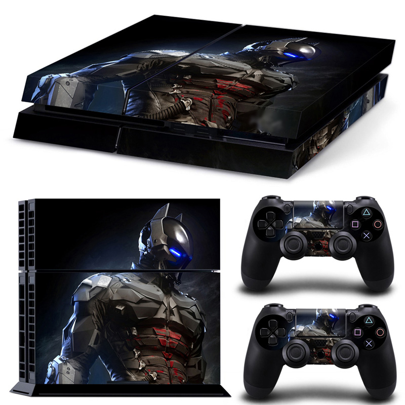 OSTSTICKER For Ps4 Skin Bat Joker Batman Game PVC Decal Sticker For PS4 Console Vinyl For Playstation 4 PS4 Controller